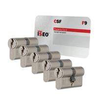 Iseo F9 cilinder met kerntrekbeveiliging (5x) - SKG***