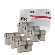 Iseo F9 cilinder met kerntrekbeveiliging (6x) - SKG***