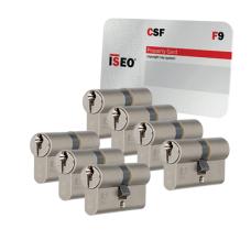 Iseo F9 cilinder met kerntrekbeveiliging (7x) - SKG***