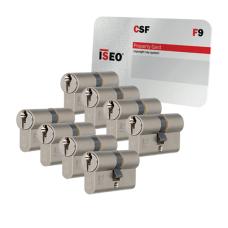 Iseo F9 cilinder met kerntrekbeveiliging (8x) - SKG***