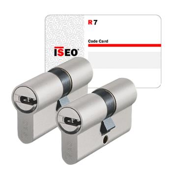 Iseo R7 cilinder met kerntrekbeveiliging (2x) - SKG***