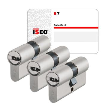 Iseo R7 cilinder met kerntrekbeveiliging (3x) - SKG***