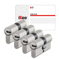 Iseo R7 cilinder met kerntrekbeveiliging (4x) - SKG***