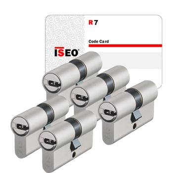 Iseo R7 cilinder met kerntrekbeveiliging (5x) - SKG***
