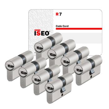 Iseo R7 cilinder met kerntrekbeveiliging (8x) - SKG***
