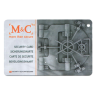 M&C Color Pro cilinder met kerntrekbeveiliging (9x) - SKG***