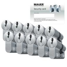 Mauer DT1+ cilinder met kerntrekbeveiliging (10x) - SKG***