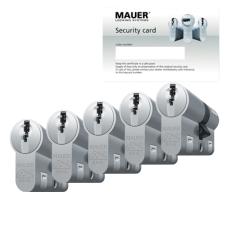 Mauer DT1+ cilinder met kerntrekbeveiliging (5x) - SKG***