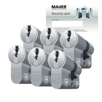 Mauer DT1+ cilinder met kerntrekbeveiliging (6x) - SKG***