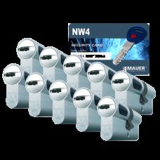 Mauer New Wave 4 cilinder met kerntrekbeveiliging (10x) - SKG***