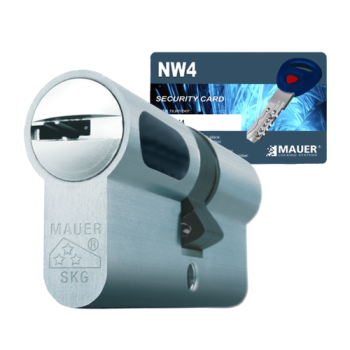Mauer New Wave 4 cilinder met kerntrekbeveiliging (1x) - SKG***