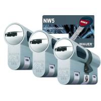 Mauer New Wave 5 cilinder met kerntrekbeveiliging (3x) - SKG***