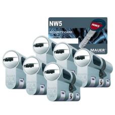 Mauer New Wave 5 cilinder met kerntrekbeveiliging (6x) - SKG***