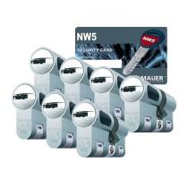 Mauer New Wave 5 cilinder met kerntrekbeveiliging (7x) - SKG***