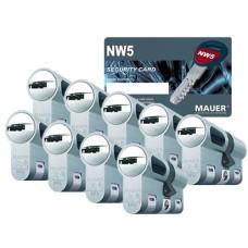 Mauer New Wave 5 cilinder met kerntrekbeveiliging (9x) - SKG***