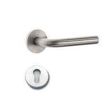 Nemef binnendeur rozetbeslag - kruk L + cilindergat