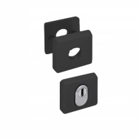 Nemef Hollands Design - rozet zwart (rechthoekig) - SKG***