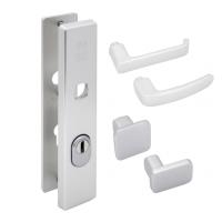 Nemef Hollands Design - veiligheidsbeslag inclusief krukken (rechthoekig) - SKG***
