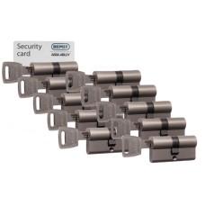 Nemef NF3 cilinder met kerntrekbeveiliging (10x) - SKG***