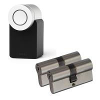 Nuki Smart Lock 2.0 + NF3 cilinder met kerntrekbeveiliging (2x) - SKG***