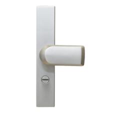 S2 veiligheidsbeslag 50 mm (greep) knop los schild met kerntrekbeveiliging (rechthoekig) - SKG***