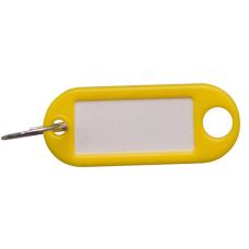 Sleutellabel - geel