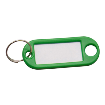 Sleutellabel - groen