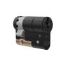 M&C Matrix cilinder zwart met kerntrekbeveiliging (10x) - SKG***