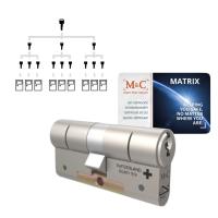 Sluitplan M&C Matrix cilinder met kerntrekbeveiliging