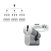 Sluitplan Mauer DT1 cilinder met kerntrekbeveiliging