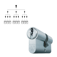 Sluitplan Mauer F3 cilinder met kerntrekbeveiliging